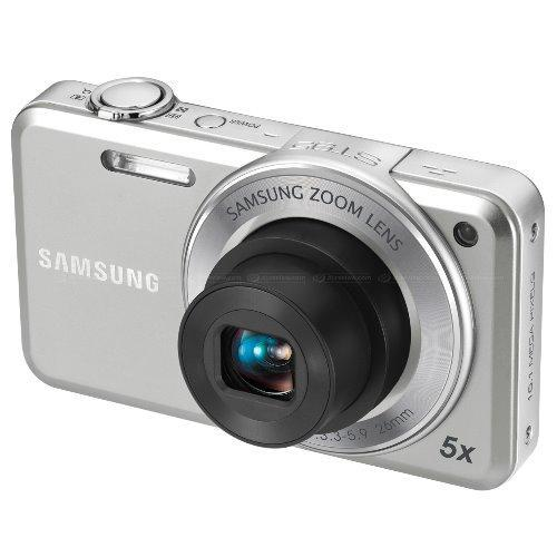 (Refurbished)Samsung ST95 Digital Camera with 16 MP, 5x Optical Zoom and Touchscreen (Silver)(Export)