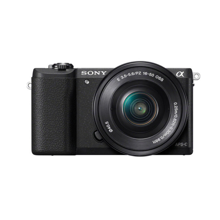 Sony Singapore α5100 / ILCE-5100 E-mount Camera with APS-C Sensor + SELP1650 Lens Kit (Black)