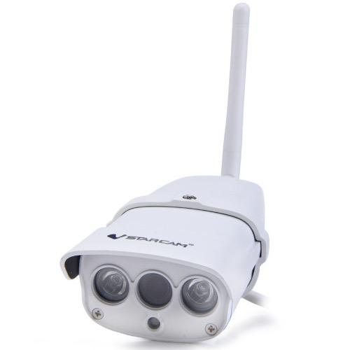Vstarcam C7816WIP * SG SELLER * Wireless IP Camera 1.0MP H.264 IR-CUT Safety Mark Power Plug (White)