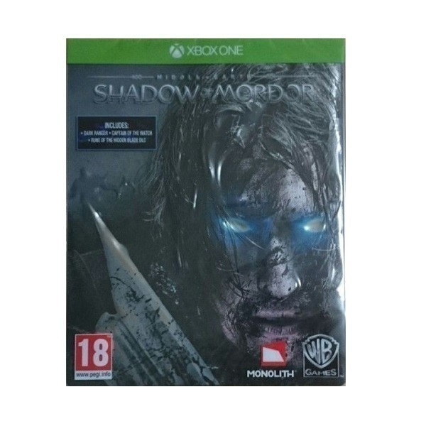 Xbox One Middle Earth Shadow Of Mordor-Steelbook